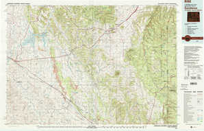 Sundance 1:250,000 scale USGS topographic map 44104a1