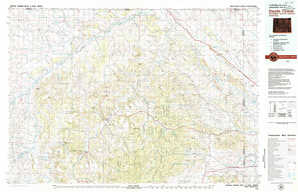 Devils Tower 1:250,000 scale USGS topographic map 44104e1