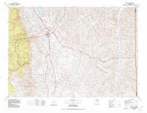 Buffalo topographical map