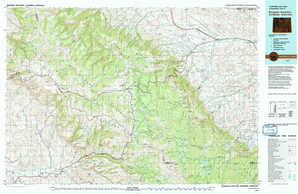 Burgess Junction topographical map
