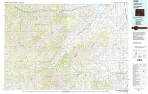 Carter Mountain topographical map