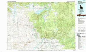 Ashton topographical map