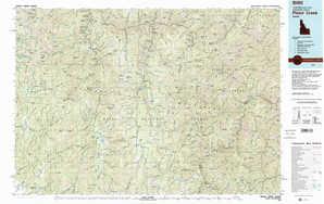 Pistol Creek topographical map