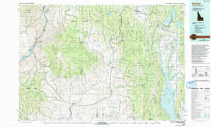 Mc Call topographical map