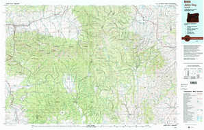 John Day 1:250,000 scale USGS topographic map 44118a1