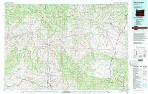 Monument 1:250,000 scale USGS topographic map 44119e1