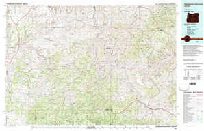 Stephenson Mountain topographical map