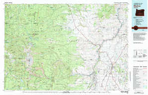 Madras topographical map