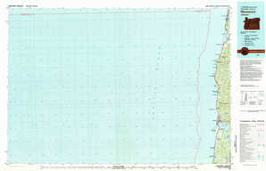 Newport topographical map