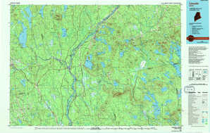 Lincoln topographical map
