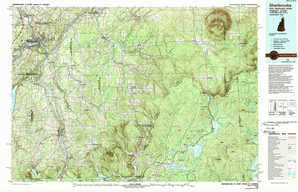 Sherbrooke topographical map