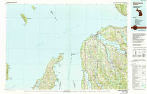 Charlevoix topographical map