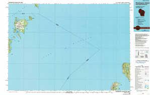 Washington Island topographical map