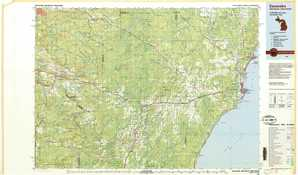 Escanaba topographical map