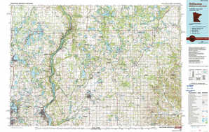 Stillwater topographical map
