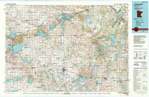 Litchfield topographical map