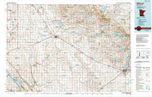 Willmar topographical map