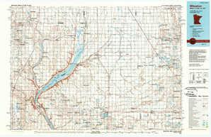 Wheaton 1:250,000 scale USGS topographic map 45096e1