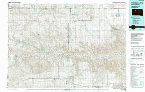 Timber Lake topographical map