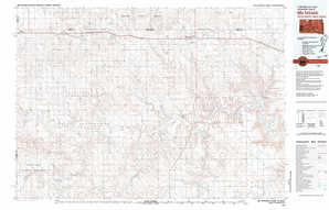 Mc Intosh topographical map