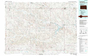 Lemmon topographical map