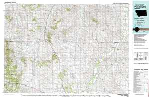 Powderville topographical map