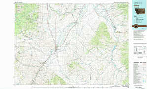 Dillon 1:250,000 scale USGS topographic map 45112a1