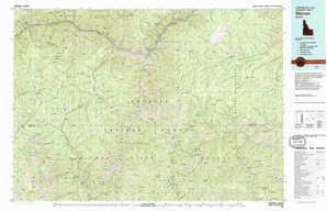 Warren topographical map