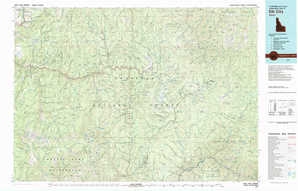 Elk City topographical map