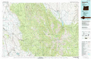 Enterprise topographical map