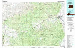 La Grande topographical map