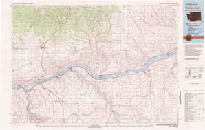 Goldendale topographical map