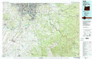 Oregon City topographical map