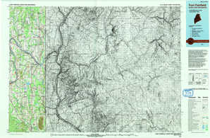 Fort Fairfield topographical map