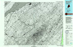 Montmagny topographical map