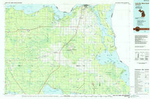 Sault Sainte Marie South topographical map