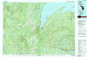 L'Anse topographical map