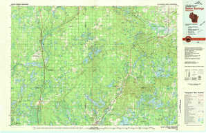 Solon Springs topographical map