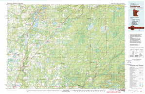 Sandstone 1:250,000 scale USGS topographic map 46092a1