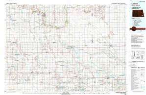Lisbon topographical map