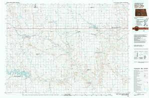 Glen Ullin topographical map