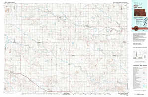 Mott 1:250,000 scale USGS topographic map 46102a1