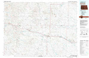 Bowman 1:250,000 scale USGS topographic map 46103a1