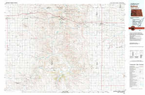 Belfield 1:250,000 scale USGS topographic map 46103e1