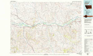 Forsyth topographical map