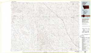 Angela topographical map