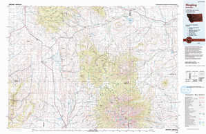 Ringling topographical map