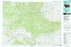 White Sulphur Springs topographical map