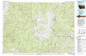 Philipsburg topographical map