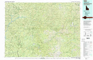 Headquarters topographical map